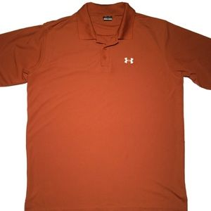 Under Armour Loose Fit Heat Gear Polo Men's Large